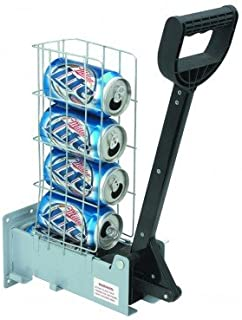 Pittsburgh 62951 Multi-Load 6 Aluminum Can Crusher Heavy Duty by HFT, Silver