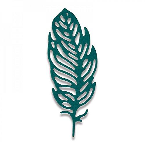 Sizzix 661791 Thinlits Stanzen - Kleine Feder von Sophie Guilar, stahl, mehrfarbig, 13.5 x 8 x 0.2 cm