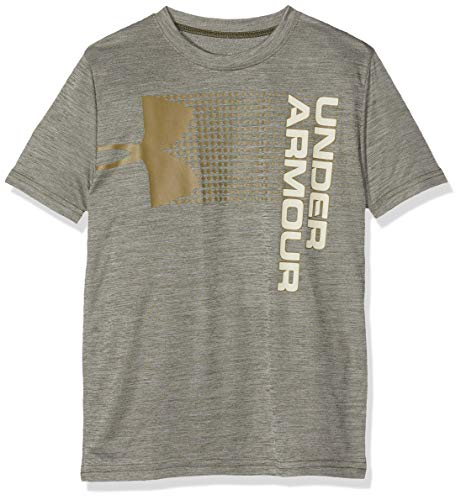 Under Armour Crossfade Tee T-Shirt Garçon, Vert(Vert), L