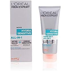 L'Oréal Paris Men Expert Todo en 1 After-Shave + Hidratante Hydra Sensitive para Hombres con Piel Sensible - 75ml