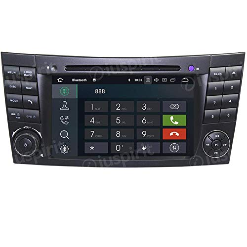 Android 7.1GPS DVD USB SD Wifi Bluetooth Radio 2Din navegador Mercedes Clase E W211y Mercedes clase G W463/Mercedes Clase CLK W209//Clase CLS W219E200/E220/E240/E270/E280/E300