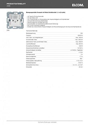 BERKER 2996 bewegingsmeldersensor, grijs
