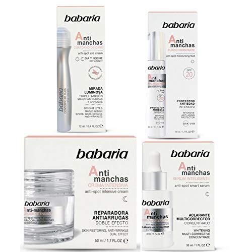 BABARIA, Crema facial con ácido hialurónico, 50 ml, Blanco (31739)