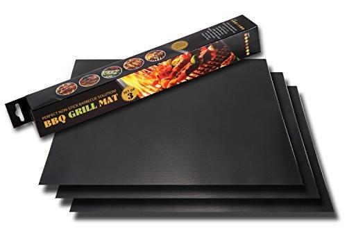 Twisted Chef Grill-Matten Plaque de cuisson anti-chaleur 40 x 33 cm