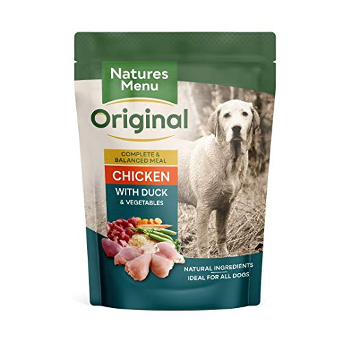 Natures Menu Dog Food Pouch Chicken & Duck (8 x 300g) 🔥