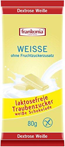 Frankonia Dextrose Weiße Schokolade 10x80g