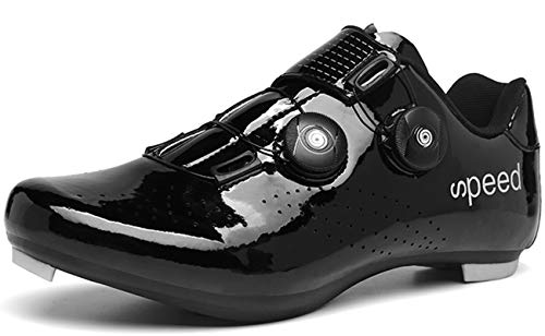 Cycling-Shoes Mens Road Bike Mountain Bike SPD/SPD-SL Compatible Double Ratchet MTB Cleat...