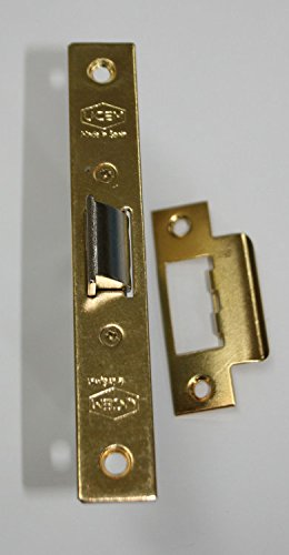 Ucem - Picaporte de embutir unificado hierro latonado serie 6134bc bchl050