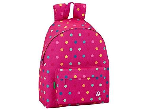 Benetton mochilas escolares tipo casual