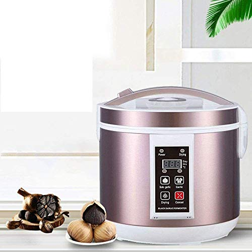 Vogvigo Fermentador de ajo Negro 5L Máquina de fermentación Inteligente Inteligente Completamente automático Cocina de Bricolaje con múltiples Dientes de ajo