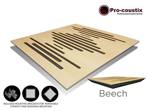 Diffuserflexible - Panel difusor profesional, Beech