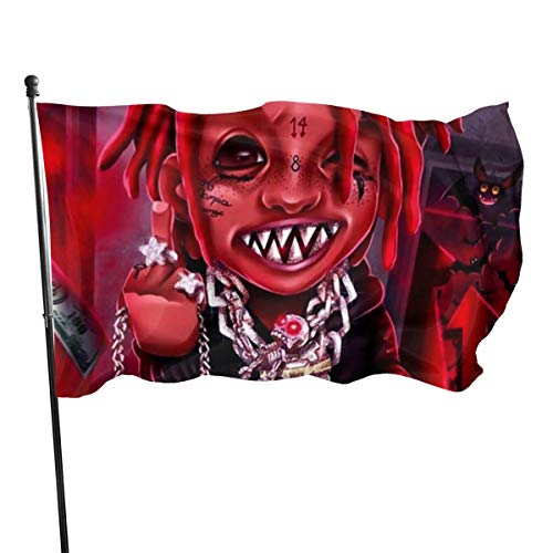 MaoMaoYongHui Trippie Redd Mode Dekoration Flagge Erweiterte Anpassung Flagge 3x5 Ft