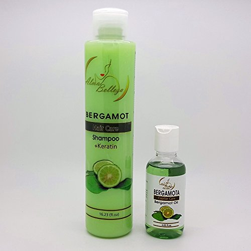 Bergamota Shampoo & Oil Combo