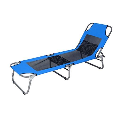 AI LI WEI Thuis buiten/opklapbare lakens mensen begeleiden Bed Office Nap Bed Draagbare Lunch Bed Outdoor Beach Bed Geen noodzaak om te installeren, Draagbaar en gemakkelijk
