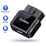 Audew M2 Bluetooth OBDII Car Code Reader, New Generation OBD2 Diagnostic Scan Tool for iOS&Android