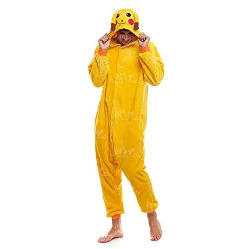 Partilandia Disfraz Ratón Eléctrico Adulto para Carnaval Pijama Kigurumi...
