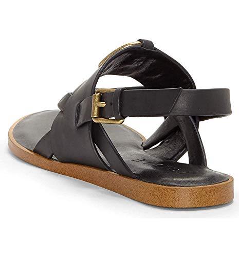1.STATE Women's Lelle Strappy Sandal, Black 7.5 B(M) US