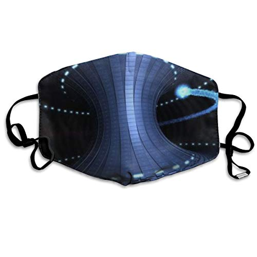 Multi Monitor Dual Screen Cg Digitale Kunst Unisex Volledige Coverage Buis Gezicht Masker Bandanas UV Bescherming Hals Gaiter Hoofdband