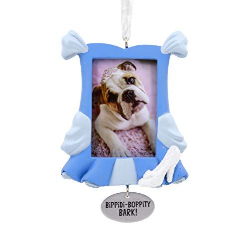Hallmark Christmas Ornaments, Disney Cinderella Dog Picture Frame Ornament