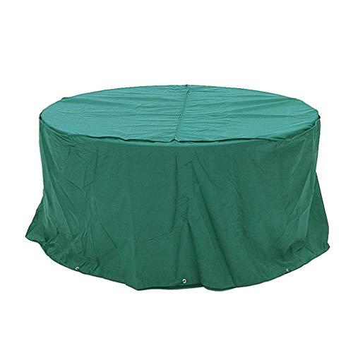 BOC Cubiertas para muebles de jardín, Cubiertas para muebles de jardín, Impermeable, Anti-Uv, Cubierta de muebles de ratán de tela Oxford resistente para juego de cubos/Patio/Exterior, Verde,210