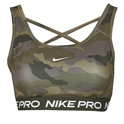 Nike Swoosh Camo PRT Sport-BH Thunder Grey/Black/White/White L