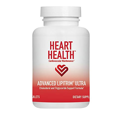 Heart Health Advanced LipiTrim Ultra, Cholesterol and Triglyceride Support Formula, Antioxidant, Helps Maintain Normal Blood Glucose Levels, Market America (30 Servings)