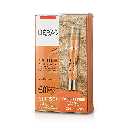 Lierac Pack Sunissime Fluido Protector + Protector de Contorno de Ojos
