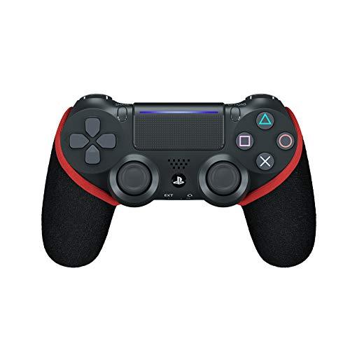 SMART GRIP PS4 Controller Hülle, Anti-Sweat/Anti-Rutsch PS4 Controller Grip, Waschbar, Playstation Controller Individualisieren, PS4 Controller Zubehör (Rot)