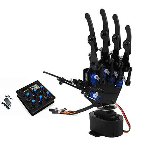 TMIL Bricolage Controllo 6 Canali Braccio Meccanico Bionico Braccio Robotico/Robot Mano,Righthand