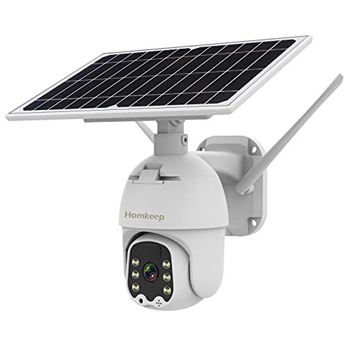 Home Solar Security Camera Outdoor,…