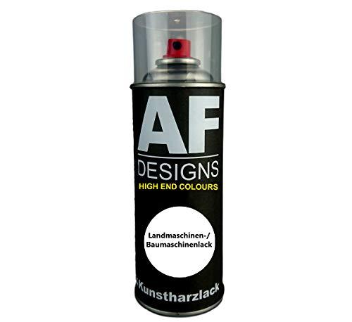 Alex Flittner Designs Kunstharz Lackspray Buntlack Spraydose für KUBOTA GRAU Baumaschinen