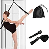 Rose-only Leg Stretcher Strap, Adjustable Lengthen Door Flexibility Trainer for Cheer, Ballet Dance, Yoga and Gymnastic Exercise, Home Dance Stretch Bands