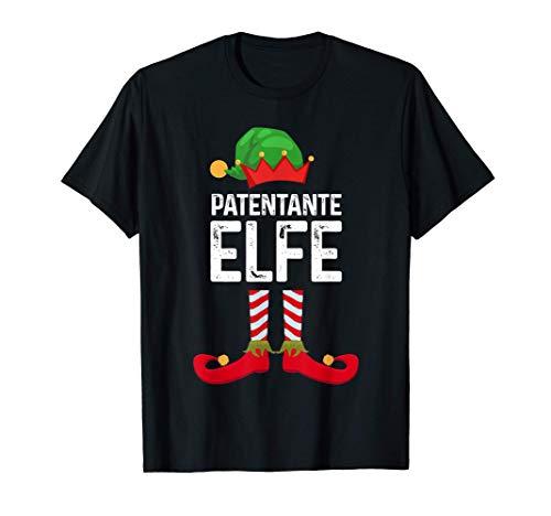 Patentante Elfe Weihnachten Weihnachtsmann Geschenk T-Shirt