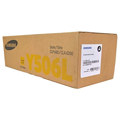 1x Original XL Toner Samsung CLT Y506L CLP 680ND CLP 680DW Yellow Leistung ca 3500 Seiten