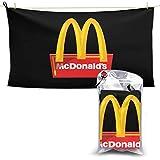 N / A McDonalds – Toalla de mano de secado rápido, fácil y rápido