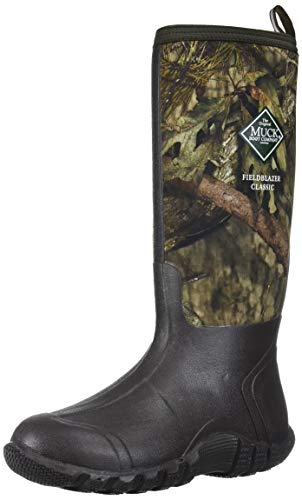 Muck Boot Men's Fieldblazer Classic Industrial Boot, Brown/Mossy Oak Country, 13