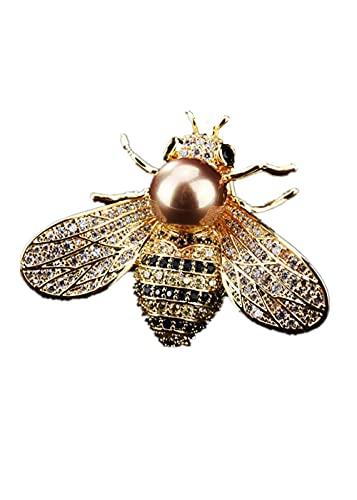 Brosche Insekt Brosche frauen Zarte kleine Biene Brosche Kristall Pin Brosche Schmuck Geschenke für Mädchen