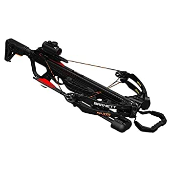 Barnett Explorer XP 370 Crossbow| Compound Crossbow with Red Dot Scope Arrows & Quiver Black