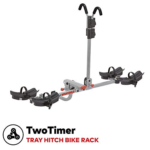 YAKIMA -TwoTimer Tray Hitch Bike Rack, Great for Fat Bikes, Bikes with Fenders, Women's Specific Bikes, 2 Bike Capacity