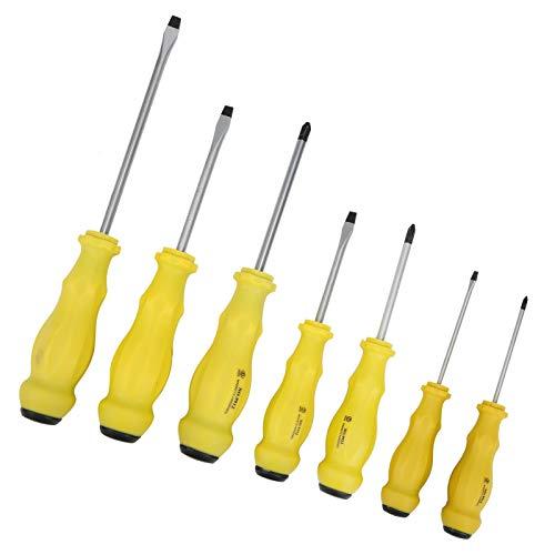 Conjunto de chave de fenda, conjuntos de chave de fenda, chave de fenda múltipla 7 unidades Conjunto de chaves de fenda para artesão Kit de chave de fenda pequena para eletrodomésticos de