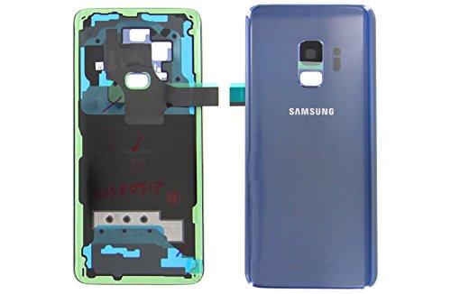 Funda teile24 Original Samsung Galaxy S9g960F Tapa Trasera Batería Carcasa Tapa Trasera Tapa Coral Azul Blue GH82–15865d