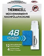 Thermacell Muggenafweer navulverpakking voor 48 uur (12 plaatjes met werkzame stoffen en 4 gaspatronen), meerkleurig