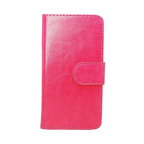 YZKJ Cover für Archos Core 55S Hülle,Flip PU Ledertasche Magnetknopf Wallet Tasche Standfunktion Schutzhülle Hülle mit Kartenfach für Archos Core 55S (5.45