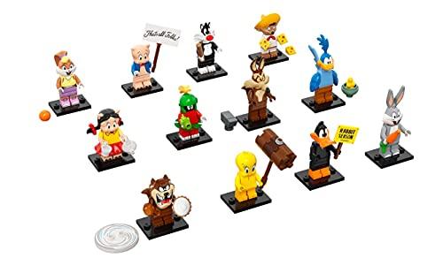 LEGO71030MinifiguresLooneyTunesColeccionismo,1Minifigurade12paraColeccionar,EdiciónLimitada,conAccesorios