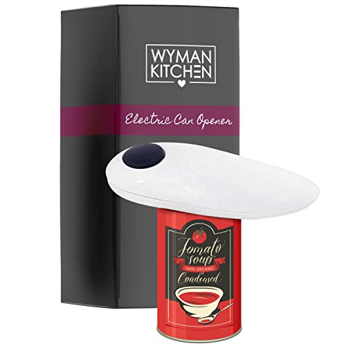 Wyman Kitchen Automatic Can Opener Hands Free - Battery Operated Can...
