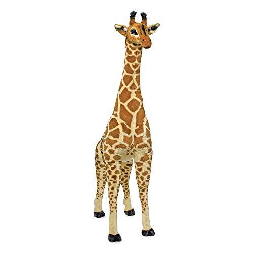 Melissa & Doug Giant Giraffe - The Original (Playspaces & Room Decor, Lifelike Stuffed Animal,...