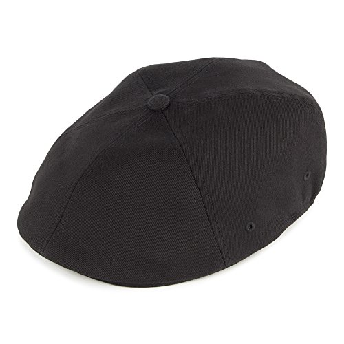 Kangol Casquette Gavroche 504 Flexfit Noir Small/Medium