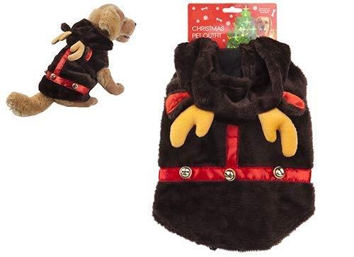 TOYLAND Traje de Navidad para Mascotas Perros y Gatos - Reno, muñeco de Nieve - Novedad, Disfraces de Navidad...