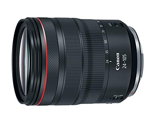 Canon RF 24-105mm f/4L IS USM Lens, Black - 2963C002