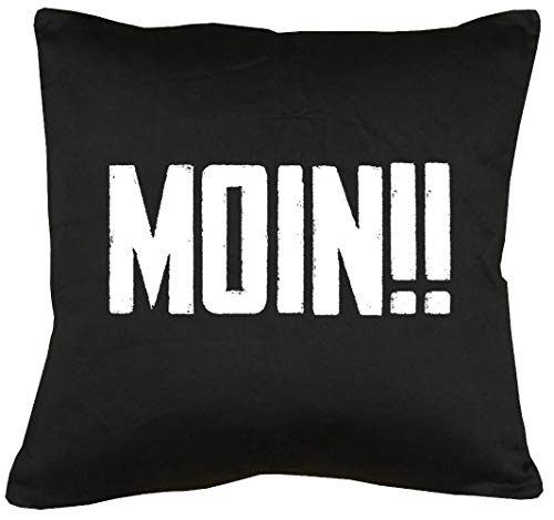 TShirt-People Moin!! Kissen mit Füllung 40x40cm